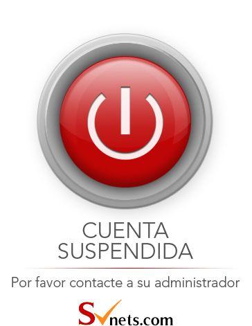 Svnets.com informa - Cuenta suspendida