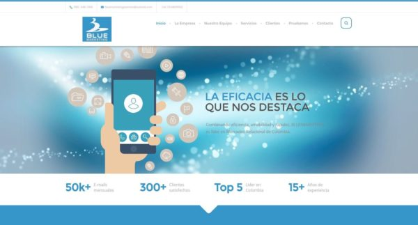 BLUE MARKETING COLOMBIA