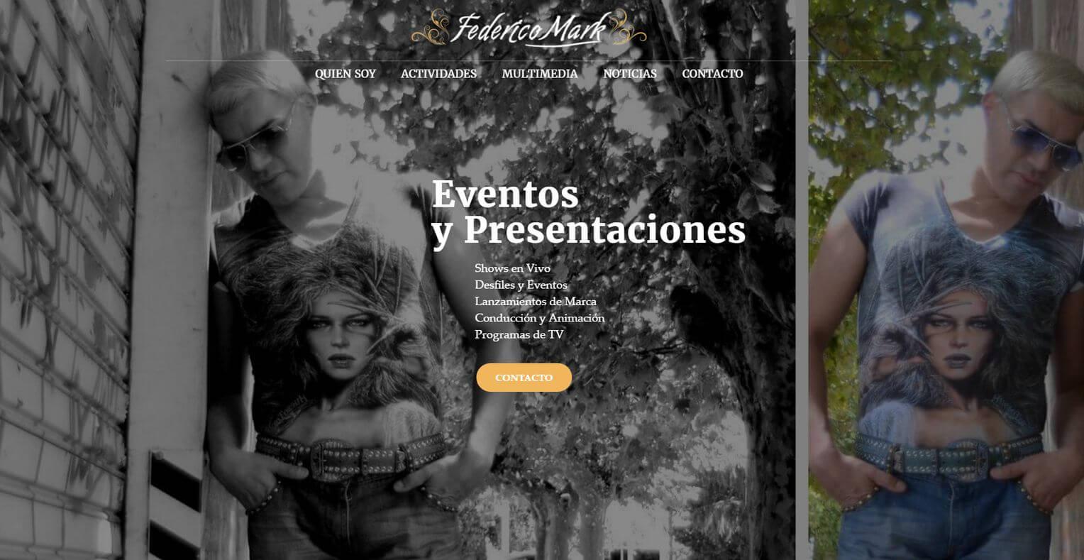 FEDERICO MARK TV: showman, conductor y profesor de baile